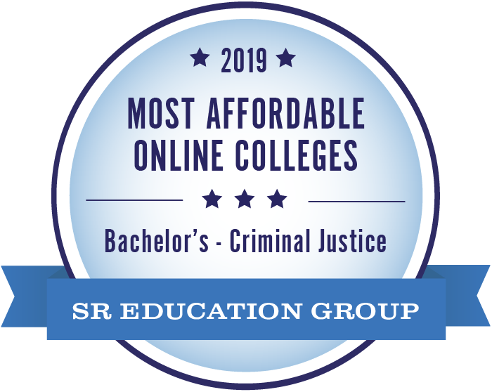 #1 most affordable online college - criminal justice