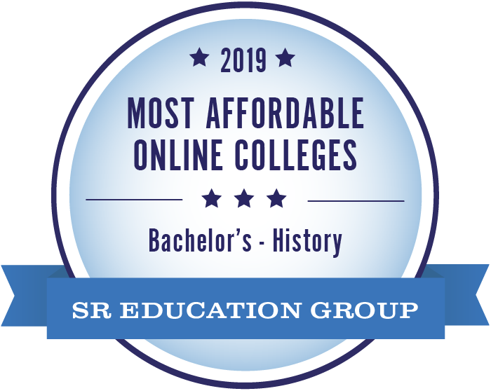 #1 most affordable online college - history